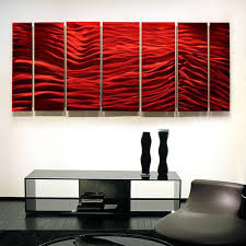 red wave ii xl extra large modern contemporary metal wall art sculpture by jon allen 96 x 36  on large modern fabric wall art with red wave ii xl extra large modern contemporary metal wall art