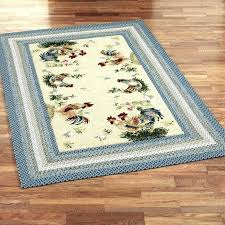 french country area rugs kitchen rooster rug designs pink large floor cotton machine washable ki