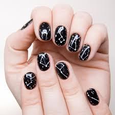 Simple Constellation Nail Art | Chalkboard Nails | Bloglovin'