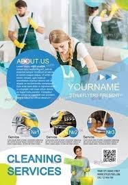 Cleaning Brochure Cleaning Services Psd Flyer Template
