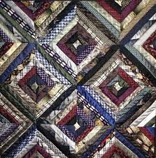 56 best Necktie Quilts images on Pinterest | Necktie quilt, Ties ... & Tie Quilt by sarahduffey, via Flickr Adamdwight.com