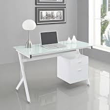 modern full glass desk. 20 Modern Desk Ideas For Your Home Office | Desks, White In Glass Desks Full