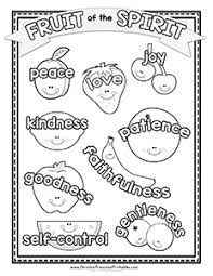Small Picture Fruit of the Spirit Printables