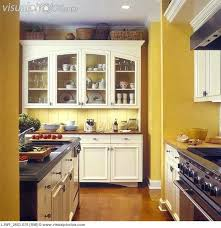 kitchen cabinets glass doors awesome kitchens yellow walls with custom made off white cabinets glass