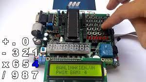 Bài 6: Ma trận bàn phím 4x4   MCA - Diễn Đàn Vi Điều Khiển