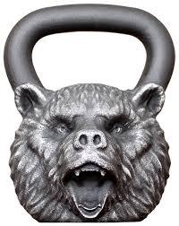 <b>Гиря</b> цельнолитая <b>Iron Head Медведь</b> 24 кг — купить по выгодной ...