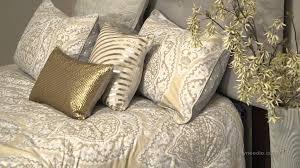 modern living taj bedding set with optional pillows  youtube