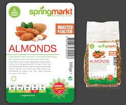 Food Product Label Design Template Feminine Elegant Product Label Design For Adams Vision Srl