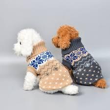15 Colors Christmas Winter <b>Dog Coat Clothes</b> Warm Soft knitting <b>Pet</b> ...
