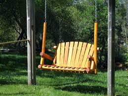 Unique Outdoor Swings Wooden Porch Swing Plans