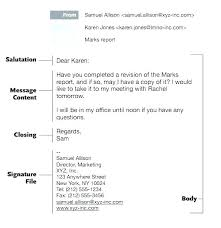 Business Emails Templates Professional Email Template A
