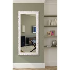 American Made Rayne Distressed French Victorian White Full Length Wall/  Vanity Mirror - antique white - Free Shipping Today - Overstock.com -  16174401