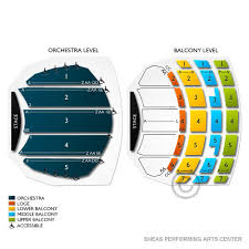 Shea S Buffalo Seating Chart With Seat Numbers 13 Expert Seating Chart For Sheas Performing Arts