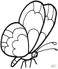 Immagini Farfalla Da Colorare Disegni Di Farfalle Da Colorare E