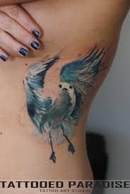 тату на ребрах девушки чайка фото рисунки эскизы