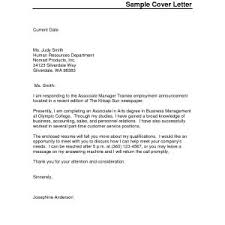 Cover Letter For Resume Template Microsoft Word Best Free Cover
