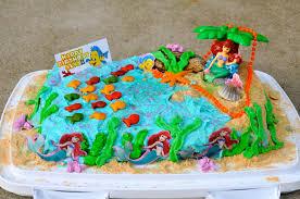 Ariel Cake Decorations Mermaid Cakes Decoration Ideas Little Birthday Cakes