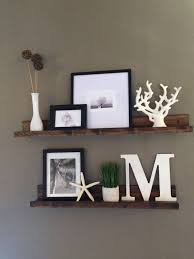 ... Picture Wall Shelves Ideas Classic Design Long Square Dark Brown  Portable Rack Varnished Furniture Thin Strong ...