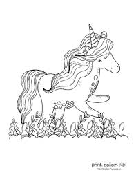 And so i've compiled together a selection of fabulous unicorn coloring pages from various sources for all unicorn lovers to download, print and enjoy! Top 100 Magical Unicorn Coloring Pages The Ultimate Free Printable Collection Print Color Fun