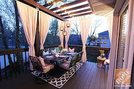 pergola lighting ideas. Deck Decorating Ideas: A Pergola, Lights And DIY Cement Planters Pergola Lighting Ideas E