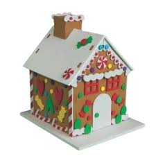 Gingerbread House Craft 1 Of 1 Available Gingerbread House Craft For