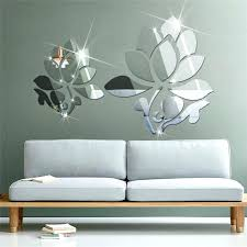wall mirrors 3d wall mirror stickers mirror wall decals acrylic mirror surface wall sticker of