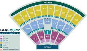 Syracuse Seating Chart Lakeview Amphitheater Near Syracuse Seating Chart Tickets