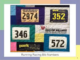 Special Items That Can Be Used In a T-shirt Quilt & 6 Running Racing Bib Numbers ... Adamdwight.com