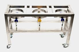 stainless steel home brewing stand