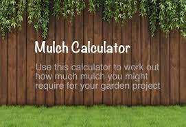 Mulch Calculator Chart Mulch Calculator How Much Mulch Do I Need