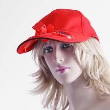 fan hat. new sun solar power hat cap with cooling fan solid color hats for men women