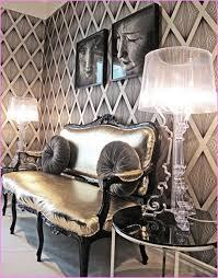 hollywood glam decorating style