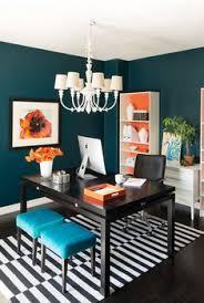 colorful office decor. Copy Cat Chic Room Redo. Home Office ColorsOffice DecorOffice Colorful Decor E