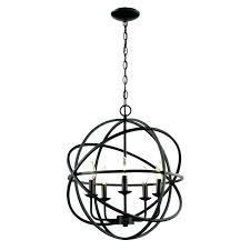 bronze globe chandelier black globe chandelier 5 light dark bronze globe chandelier for amazing dining room