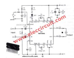 cheap car subwoofer circuit car audio amplifier circuit 50w 65w