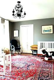 lovely red rug oriental living room nursery crib designer homes ikea persian usa typical rugs runner