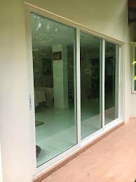 aluminum heavy duty sliding door landed property