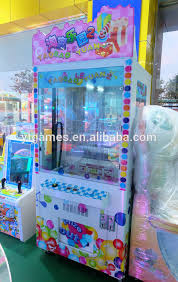 Crane Toy Vending Machine Simple Cube Toy Crane Machine Claw Crane Machine Prize Vending Machine