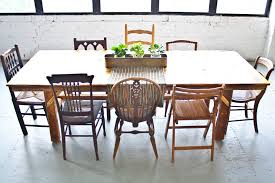 amazing mismatched dining chairs