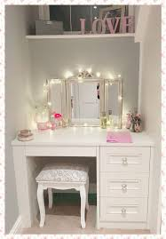 best 25 dressing tables with mirror ideas on makeup regarding white table drawers remodel 15