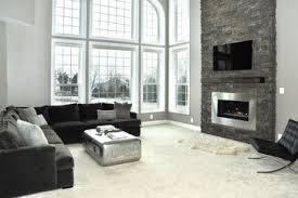 modern living room with fireplace. Modren Fireplace Stone Fireplace Renovation Modern Living Room Inside Modern Living Room With I