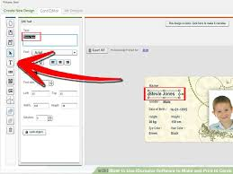 Make An Id Card How To Use Idcreator Software To Make And Print Id Cards 13