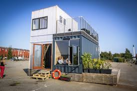Home Interior  Simple Diy Blue Shipping Container House Ideas Container Shipping House
