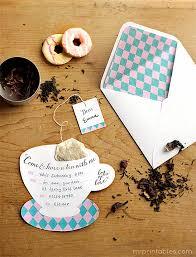 Tea Invitations Printable Printable Tea Party Invitations Mr Printables