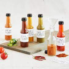 grow and make deluxe diy hot sauce making kit learn how to make 6 spicy sauces