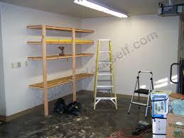 garage shelves one unit done