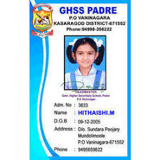 Plastic School Id Card Shape Rectangular Rs 15 Piece Id