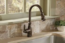 Moen 7185ORB Brantford e Handle High Arc Pulldown Kitchen Faucet