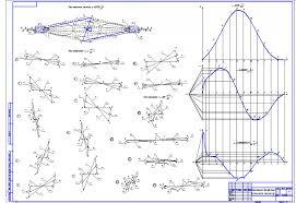 Курсовая по ТММ Проектирование и расчет механизма  Курсовая по ТММ Проектирование и расчет механизма двохцилиндрового двигателя внутреннего сгорания
