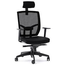 fabric office chairs with arms. BDI TC-223 Black Fabric Office Chair Chairs With Arms